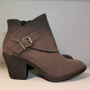 Blowfish Grey Ankle Boots